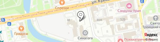 ХЛЕБ-da-СОЛЬ на карте Екатеринбурга