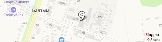 МАЭСТРО на карте Балтыма