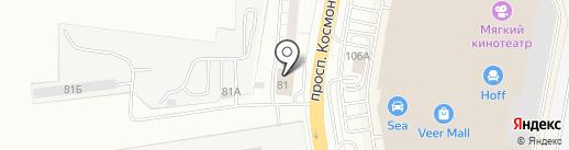 Сокудо на карте Екатеринбурга