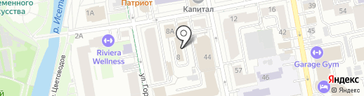 Фабрика Печатей на карте Екатеринбурга
