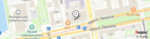 Работа7.ру на карте Екатеринбурга