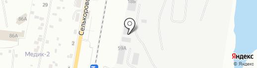 УсМоКо на карте Екатеринбурга