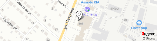Автогранд на карте Верхней Пышмы