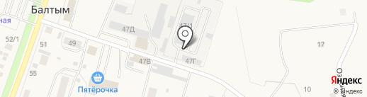 Колеса777 на карте Балтыма