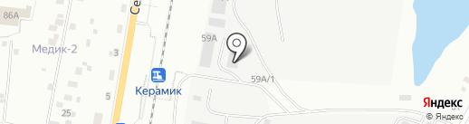 Техмет-Урал на карте Екатеринбурга