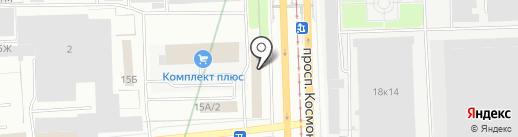 Велес НВ Сервис на карте Екатеринбурга