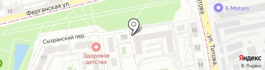 Хеликс на карте Екатеринбурга