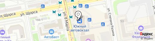 Халява на карте Екатеринбурга