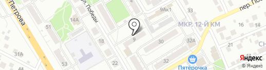 ТАИС на карте Верхней Пышмы