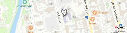 MBA-Центр на карте Екатеринбурга