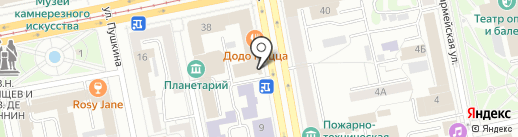 5 минут на карте Екатеринбурга