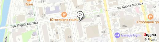 Связь-Сети на карте Екатеринбурга