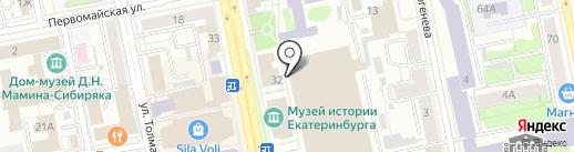 NYSTUDIO на карте Екатеринбурга