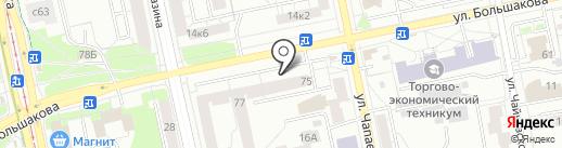 Лаборатория МедиЛис Урал на карте Екатеринбурга