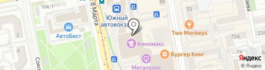 6D-киноатракцион на карте Екатеринбурга