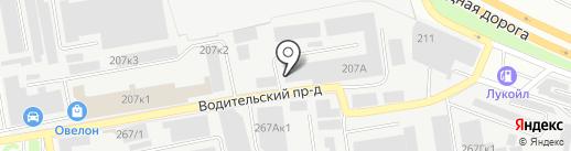 Феникс-С на карте Екатеринбурга