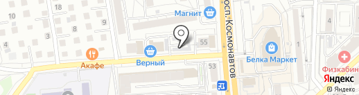 Восьмая атмосфера на карте Екатеринбурга