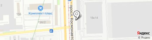 АКБ-Урал на карте Екатеринбурга