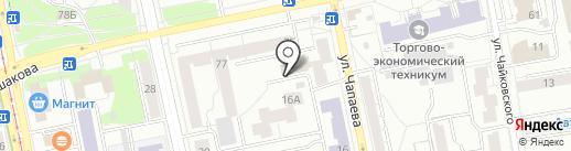 Искатели на карте Екатеринбурга