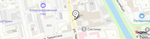 Портал на карте Екатеринбурга