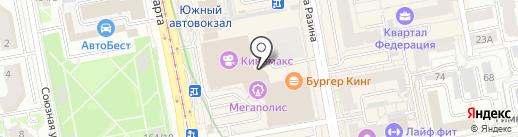 Бутик головных уборов на карте Екатеринбурга