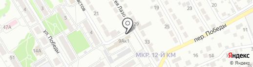 Шиномонтажная мастерская на карте Верхней Пышмы