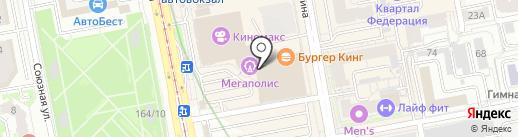 Sokolov Jewelry на карте Екатеринбурга