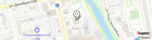 Re Mark на карте Екатеринбурга