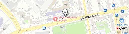 КонториЯ на карте Екатеринбурга