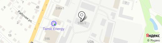 БСУ на карте Верхней Пышмы