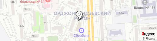 OHARA на карте Екатеринбурга