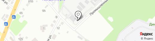 ТЕХЛИТ на карте Верхней Пышмы