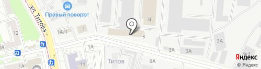 Атланттекс на карте Екатеринбурга