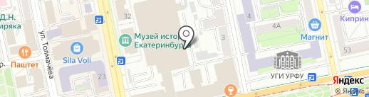 Big Gun на карте Екатеринбурга