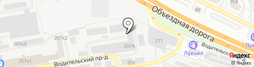 КОНТУР ПЛЮС на карте Екатеринбурга