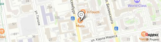 Альта на карте Екатеринбурга
