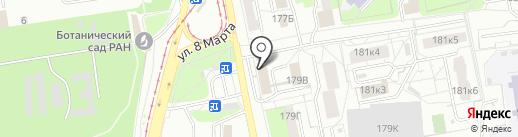 Пинта Пива на карте Екатеринбурга