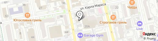 МП-ТРЕЙД на карте Екатеринбурга