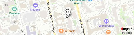 Дигесть на карте Екатеринбурга