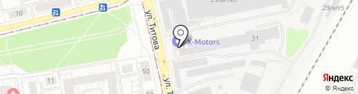 УралСтрой на карте Екатеринбурга