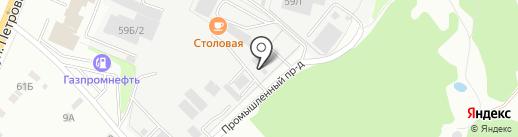 ТОП-Трейд на карте Верхней Пышмы