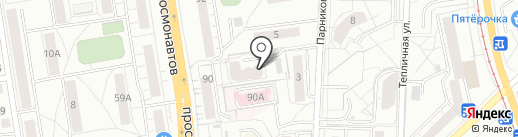 Tattoo Art Club на карте Екатеринбурга