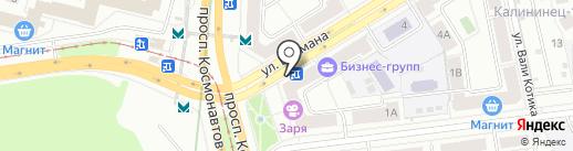 Косулинская пивоварня на карте Екатеринбурга