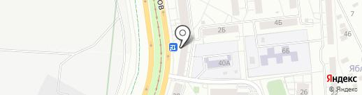 2А на карте Екатеринбурга