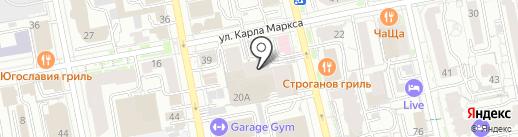 Содействие на карте Екатеринбурга