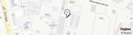 Юма-Страхование на карте Екатеринбурга