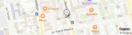 Три кита на карте Екатеринбурга