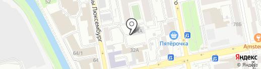 ГСК 304 на карте Екатеринбурга