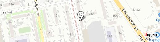 Гомеопатический центр на карте Екатеринбурга