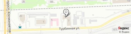 Институт Чистоты на карте Екатеринбурга